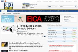 Bike Europe官網與電子報又有新樣貌