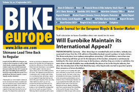 Bike Europe September edition Delayed