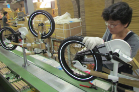 台灣自行車出口傳出好消息