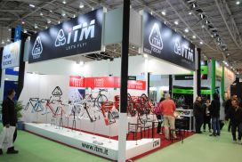 COLIPED Booth Biggest at Taipei Cycle
