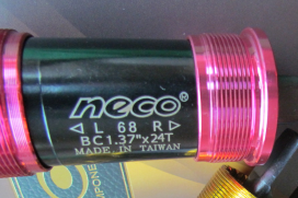 New BB-sets from Neco with Colored Cups