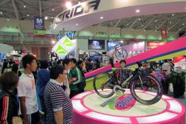 亞洲自行車市場的活絡推升了台北國際自行車展的成長