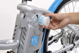 Launch of World's 1st Hydrogen Fuel Cell E-Bike
