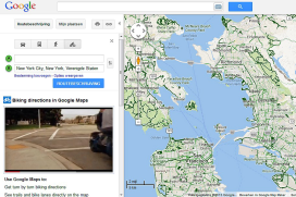 Google Maps Boosts Mapping Data for Cyclists