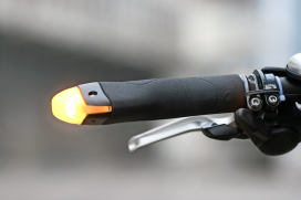BlinkerGrips Improve Cycling Safety