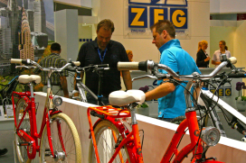 Ispo Bike 2013 Suffers from Heat Wave