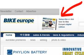 Bike Europe Magazine Now Digitally Available