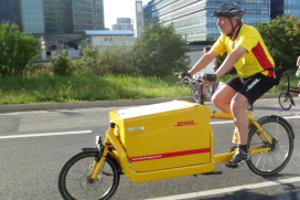 DHL Expands Delivery by Bicycle