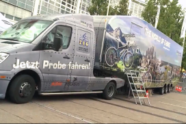 ZEG Shows E-Bikes at IAA; World's Biggest Car Show