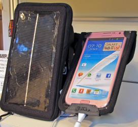 Solar Power when Cycling