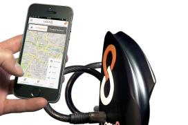 Keyless, Alarm Secured, GPS Tracked Bicycle Lock