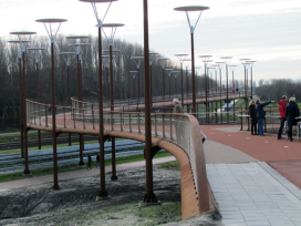 Biggest Bike Bridge in Europe Opened