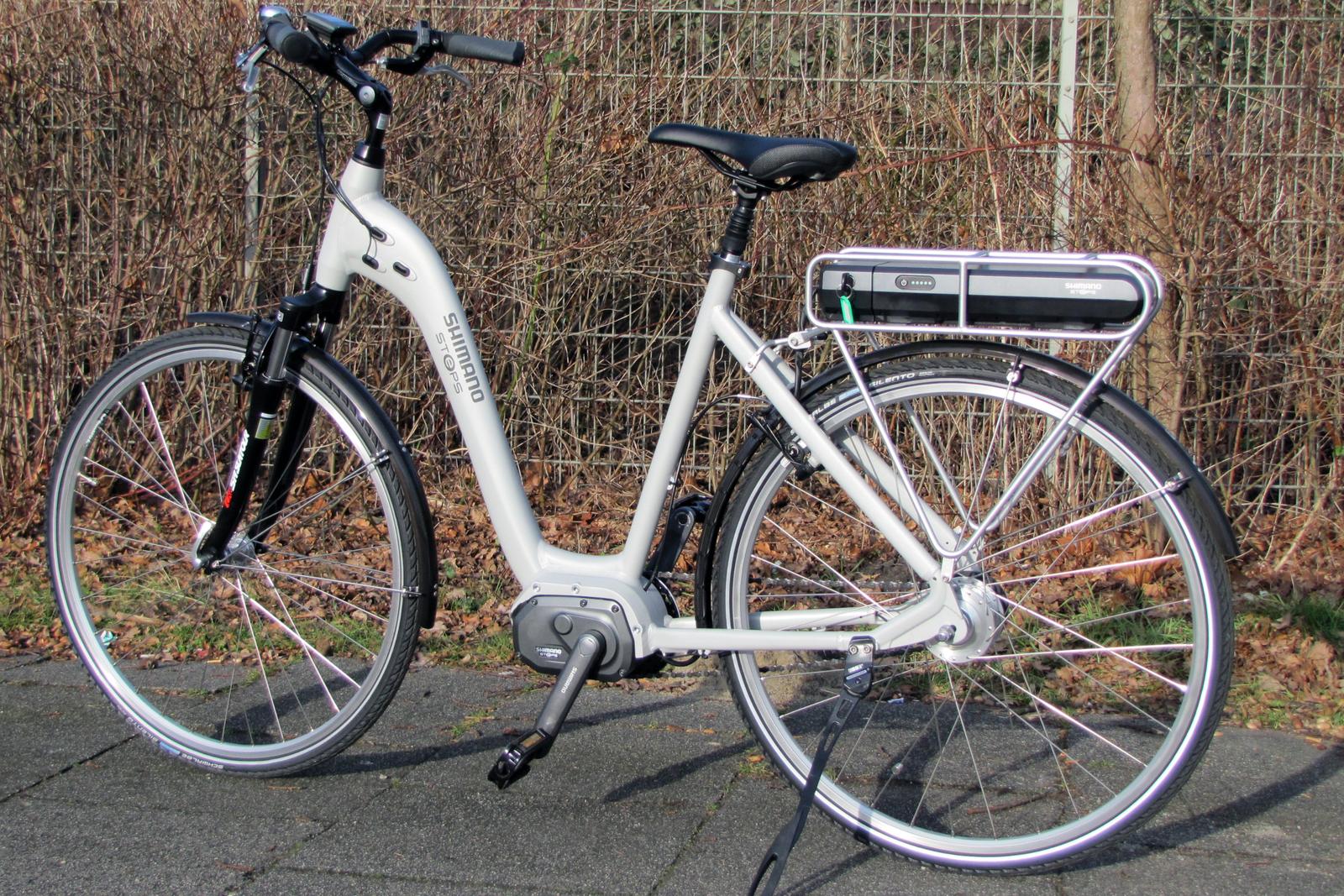 first test ride with shimano steps e bike. Black Bedroom Furniture Sets. Home Design Ideas