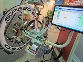 Mach 1's Machine for Hand Trueing & Control Wheels