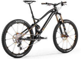 Mondraker Foxy With Unique Forward Geometry Gets High-end Carbon Frame