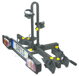 Saris Receives TÜV GS Certification for Two Tow Ball Racks
