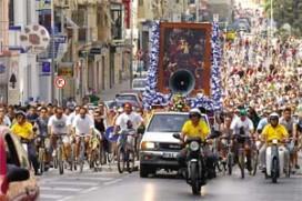 3000 Cyclists make Pilgrimage to Zabbar