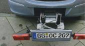 Car Integrated Bike Carrier