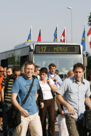 Hotel Shuttle Buses To and From Eurobike
