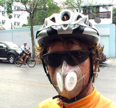 Reusable Mask For Cycling In Polluted Cities