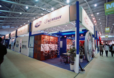 Biggger than Ever Joint European Booth at Taipei Cycle Show