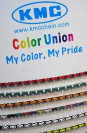 Customized Coloured Chains at KMC