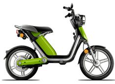 Matra's Cross-over between e-Bike and e-Scooter