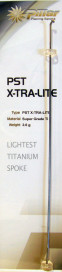 Lightweight Titanium Spokes by Pillar