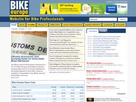 歡迎蒞臨Bike Europe全新網站