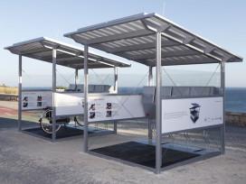 Solar Charged E-bike Sharing Program in Portugal