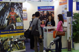 Bike Europe and Tweewieler at the European Pavillion