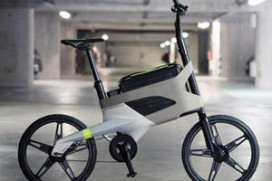 Peugeot E-Bike with Laptop Pouch
