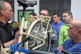 Leonardo da Vinci-E-bike Project Team Meeting