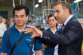 Dahon向經銷商展示其歐洲最新生產設備