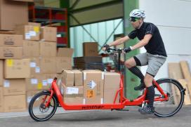 Launch of Online Platform for E-Cargobikes
