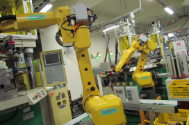 Robots Making Their Way into Taiwan Parts Industry