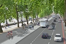 London Gets Cycle Superhighways
