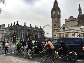 Cycling Moves Up UK Funding's Ladder