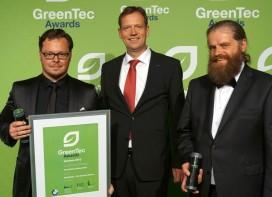 EnergyTube Receives GreenTec Award 2015