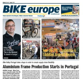 Bike Europe's August Edition Available at Eurobike