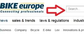 Search Function Back at Bike-eu.com