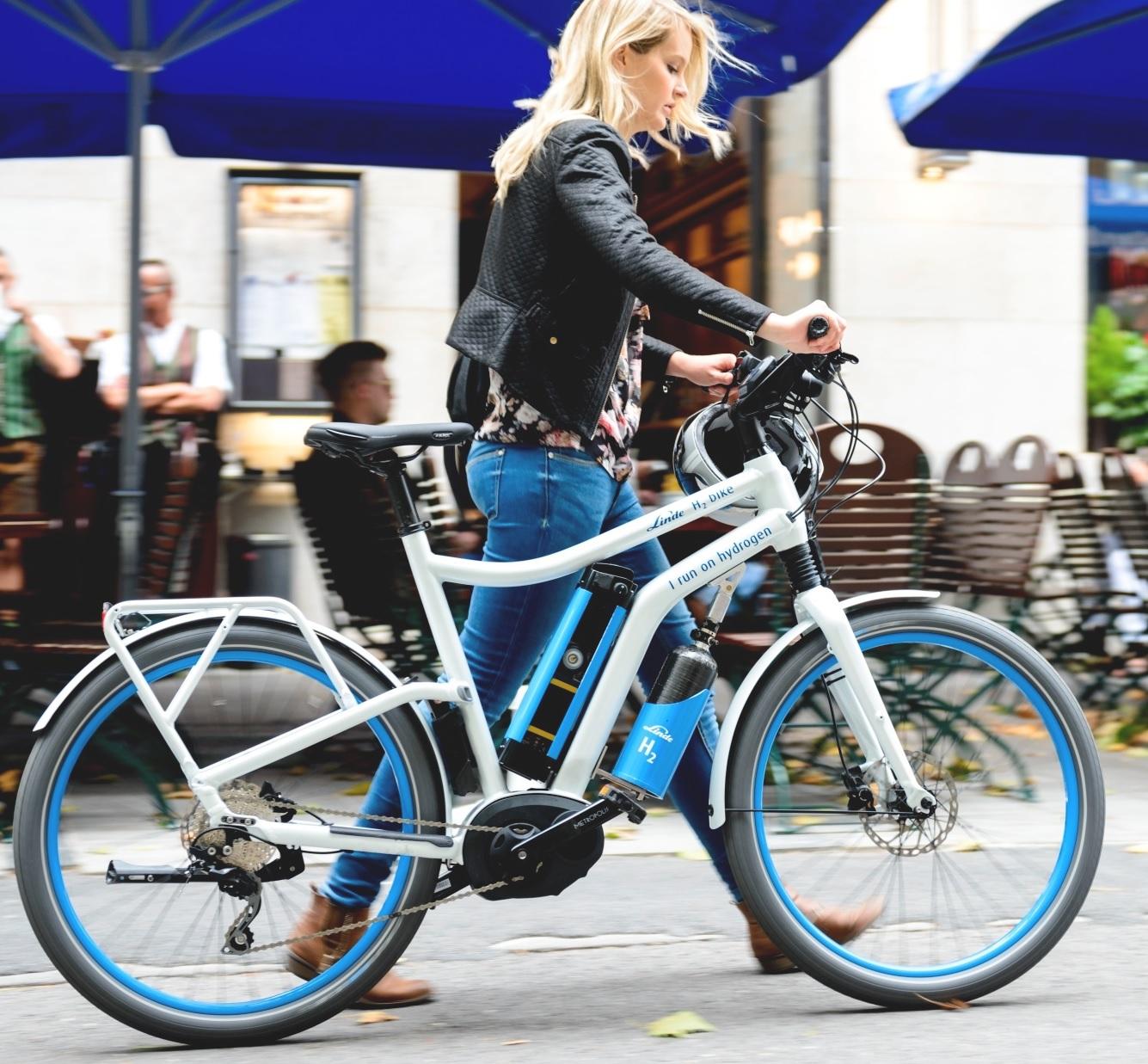 Multi Billion Tech Company Launches Fuel Cell Powered E Bike Bike Europe