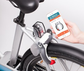 Launch of World's 1st Electric Smart Lock for Bike Sharing & Rental Systems