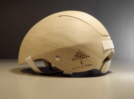 Renewable and Biodegradable Helmet Will Not Be Mass Produced