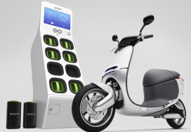 E-Scooter Battery Exchange Project Starts in Amsterdam
