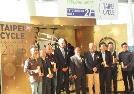 Major Increase in Overseas Participants of Taipei Cycle d&i Awards