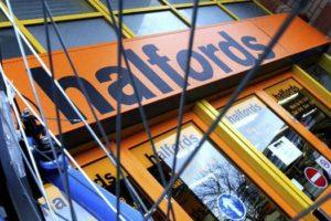 Halfords UK Bike Sales Impacted by Poor Weather