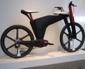Brose Exhibits E-Bike Design Study 'Visionbike'