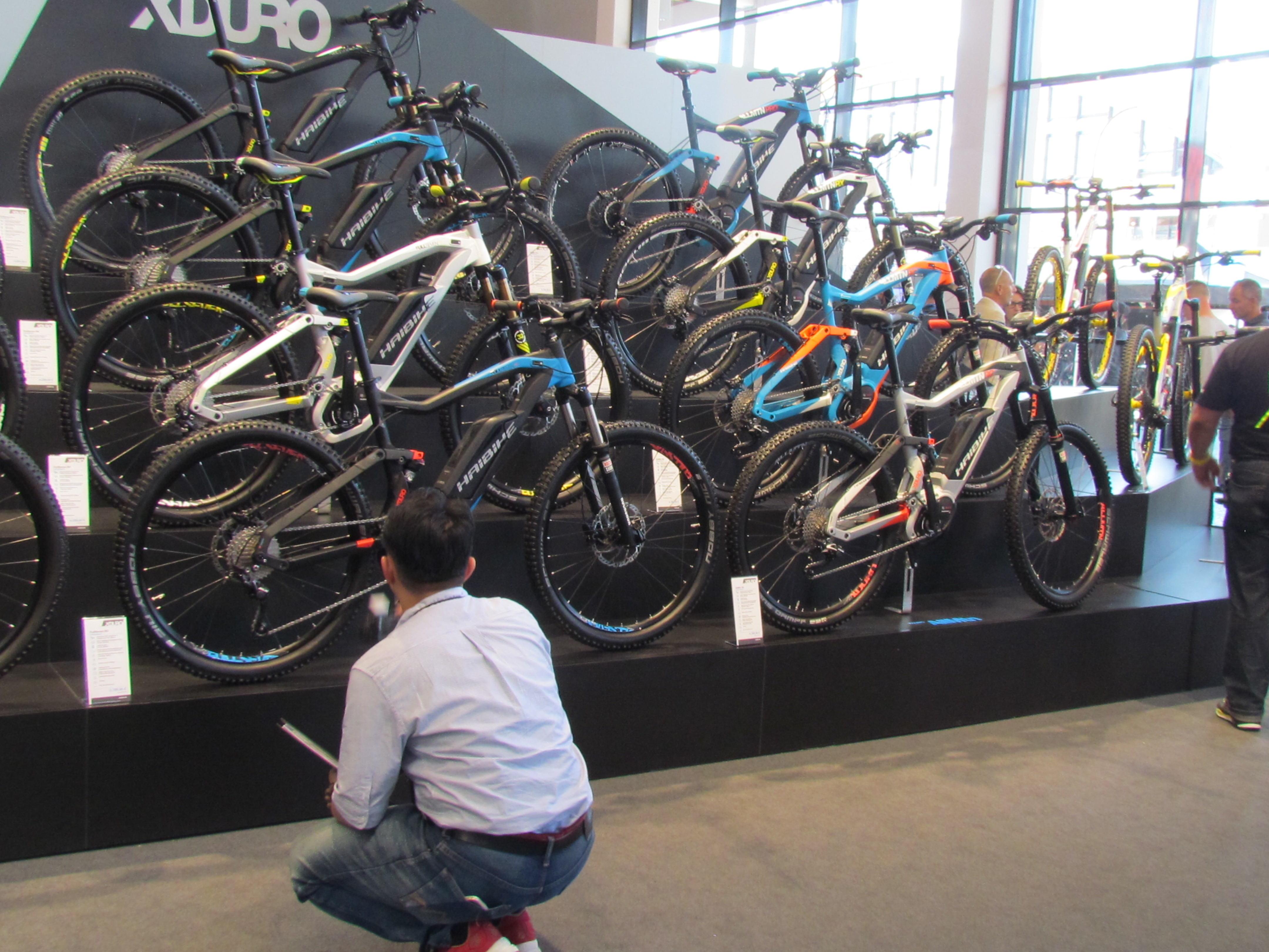 eurobike 2016 outlook is mixed but not for e bikes bike. Black Bedroom Furniture Sets. Home Design Ideas