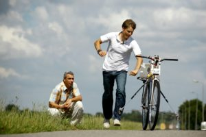 Dutch University and Gazelle Work on Self-Stabilising Bicycle